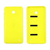 Carcasa Trasera Nokia Lumia 630/635 -Amarillo