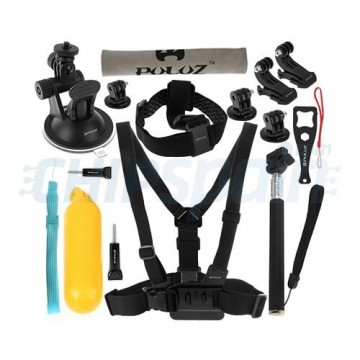 24 Accessories Kit PULUZ for GoPro HERO4/3+/3/2/1