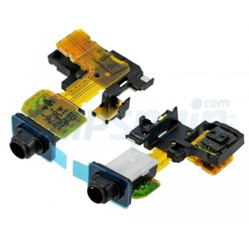 Flex with Audio Output Jack and Proximity Sensor Sony Xperia Z2