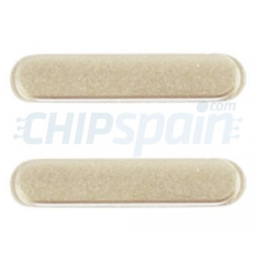 Pack de Botones Volumen iPhone 6/iPhone 6 Plus -Oro