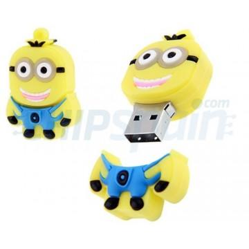 Llavero Pendrive USB Minions 16Gb