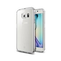 Funda de TPU Samsung Galaxy S6 Edge (G925F) -Transparente