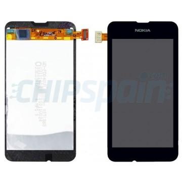 Ecrã Tátil Completo Nokia Lumia 530 -Preto