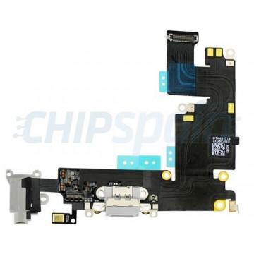 Cable Flex Conector Carga Audio y Micrófono iPhone 6 Plus -Gris