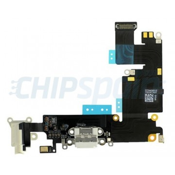 Cable Audio/Dock/Antena/Mic para iPhone 6 Plus -Branco