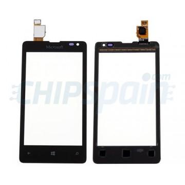 Vidro Digitalizador Táctil Microsoft Lumia 435 -Preto