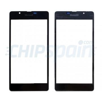 Exterior Glass Microsoft Lumia 540 -Black