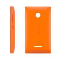 Carcasa Trasera Microsoft Lumia 435 -Naranja