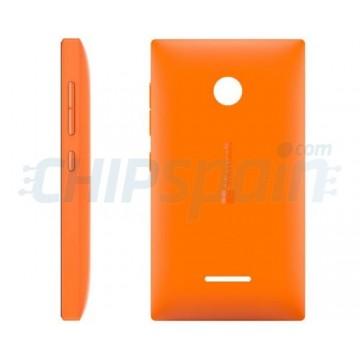 Carcasa Trasera Microsoft Lumia 435 Naranja