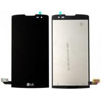 Ecrã Tátil Completo LG Leon 4G LTE (H340N) -Preto