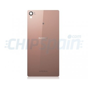 Glass Back Cover Sony Xperia Z3 -Gold