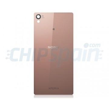 Tampa Traseira de Vidro Sony Xperia Z3 -Ouro