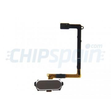 Botón Home Completo con Flex y lector de huellas ID Samsung Galaxy S6 (G920F) -Oro