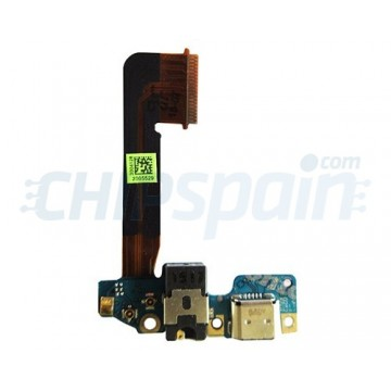 Charging Connector Flex Cable and Microphone HTC One M9