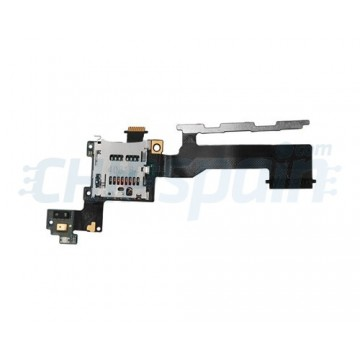 Cable Flex Lector MicroSD y Botones Laterales HTC One M9