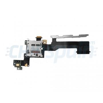Cabo Flex Leitor MicroSD e Botões Laterais HTC One M9