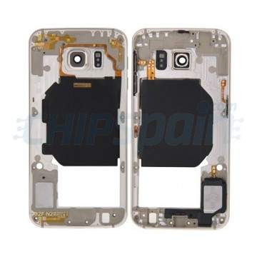 Intermediate Central Housing Samsung Galaxy S6 (G920F) -Gold