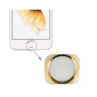 Botão Home iPhone 6S -Branco/Ouro