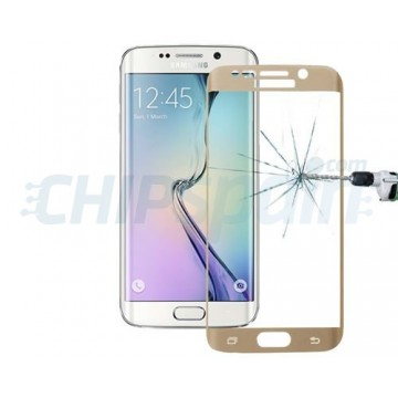 Screen Guard Crystal 0.33mm Curved Samsung Galaxy S6 Edge -Gold