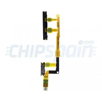Cabo Flexivel On/Off e Áudio Sony Xperia Z3 Compact (D5803/D5833)