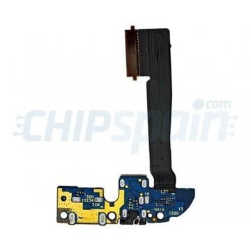 Cable Flex Conector de Carga y Audio Jack HTC One M8