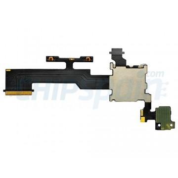 Cable Flex Volumen y Lector MicroSD HTC One M8