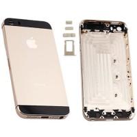 Carcasa Trasera iPhone 5S -Champagne/Negro