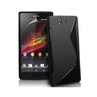 Funda Sony Xperia Z TPU S-Line -Negro