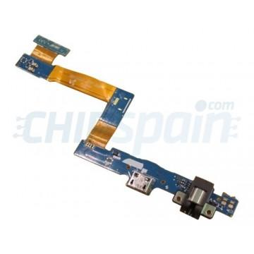 Connector Flex Carregamento e Audio Jack Galaxy Tab A T550