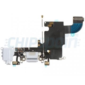 Cable Flex Conector Carga Audio y Micrófono iPhone 6S -Blanco