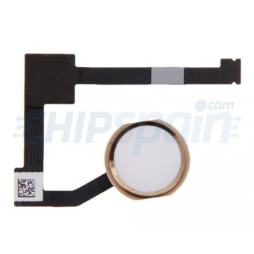 Complete Home Button Flex iPad Mini 4 -Gold