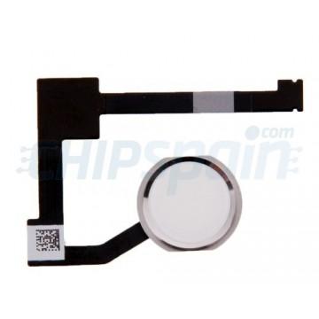 Complete Home Button Flex iPad Mini 4 -Silver