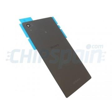 Glass Back Cover Sony Xperia Z5 -Black
