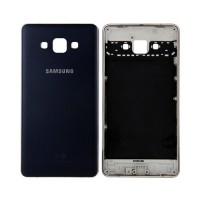 Carcasa Trasera Samsung Galaxy A7 (A700F) -Azul Metálico