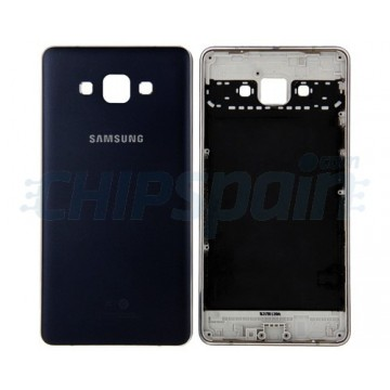 Rear Casing Samsung Galaxy A7 (A700F) -Blue Metallic