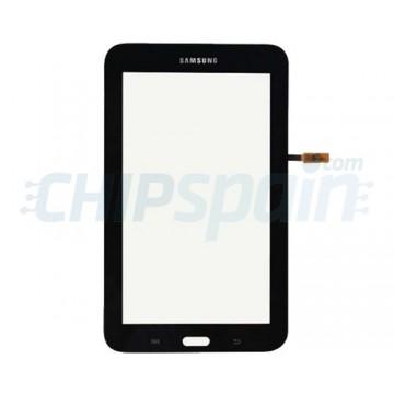 "Vidro Digitalizador Táctil Samsung Galaxy Tab 3 Lite T110 (7"") Preto"
