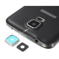 Back Camera Lens Cover Replacement Samsung Galaxy S5 (G900F) Silver