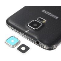 Guarnição Câmera Traseira Samsung Galaxy S5 (G900F) Prata
