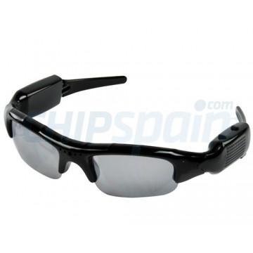 Óculos de Sol Esportivo com Câmera Spy