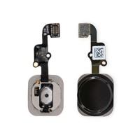 Botão Home Completo com Flex iPhone 6S iPhone 6S Plus Preto