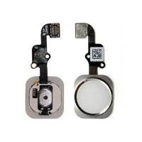 Botão Home Completo com Flex iPhone 6S iPhone 6S Plus Branco