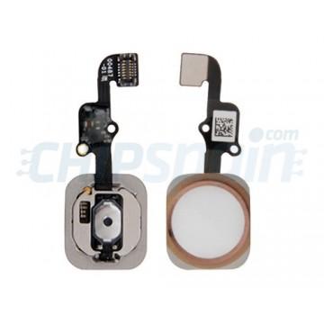 Botón Home Completo con Flex iPhone 6S iPhone 6S Plus Oro Rosado