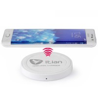 Base de Carga Wireless Qi Itian T200 Smartphone Blanco