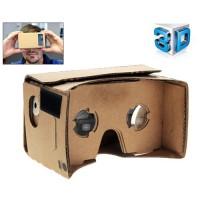 Óculos de realidade Virtual 3D CardBoard com NFC para celular