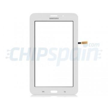 "Vidro Digitalizador Táctil Samsung Galaxy Tab 4 Lite T116 (7"") Branco"