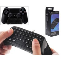 Wireless Keyboard Dobe for PS4 Controller Black