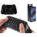 Teclado Inalámbrico Dobe para Mando PS4 Negro