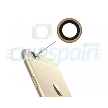Embellecedor Cámara Trasera iPhone 6 Plus iPhone 6S Plus Oro