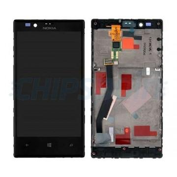 Pantalla Completa con Marco Nokia Lumia 720 Negro
