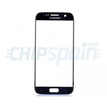 Cristal Exterior Samsung Galaxy S7 G930F Azul Oscuro